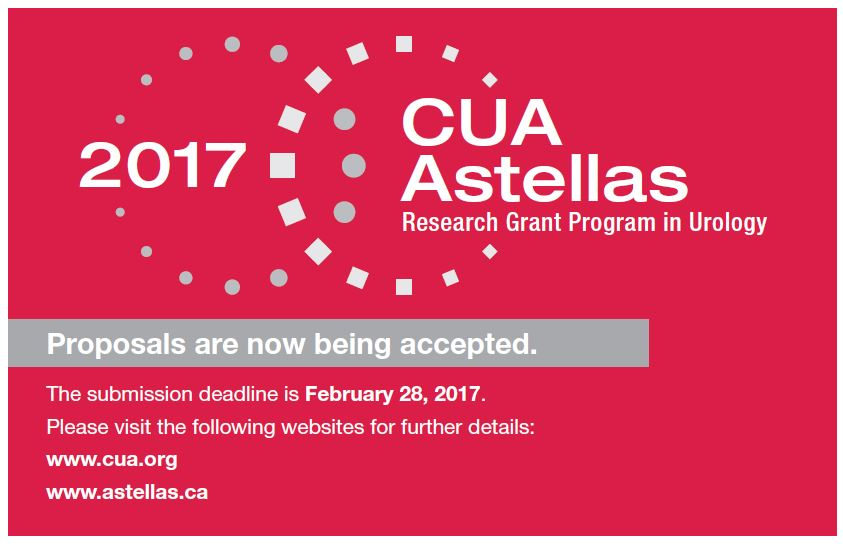 Apply Today for the CUA-Astellas Research Grant!