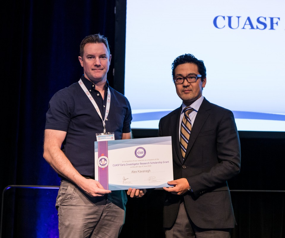 CUASF Early Investigator Research Scholarship Grant	Winner Dr. Alex Kavanagh