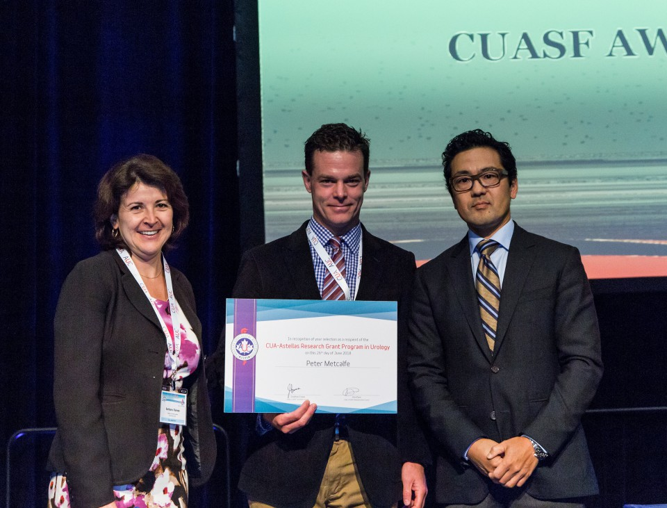 CUA-Astellas Research Grant Program Winner Dr. Peter Metcalfe